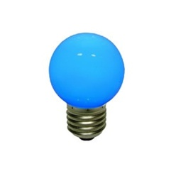 decoLED LED ampoule, vis base E27, bleue, decoLED