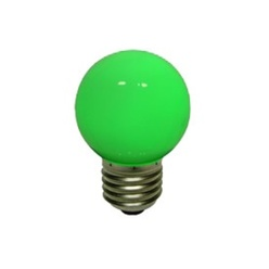 LED ampoule, vis base E27, verte, decoLED